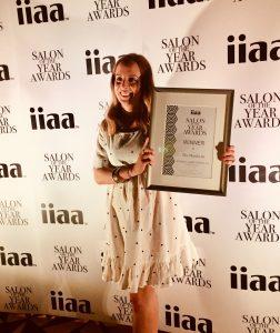 Katherine Taylor wins Salon of the Year Award