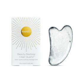 Hayou Clear Quartz Gua Sha Tool At SkinGym