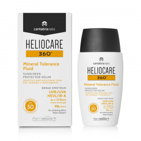 Heliocare 360 Mineral Tolerance Fluid Sunscreen SPF 50 at SkinGym